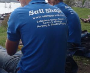 Sail Shape Polo shirt